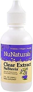 NuNaturals Pure Liquid Clear Stevia, 2 Ounces ( Pack of 3)