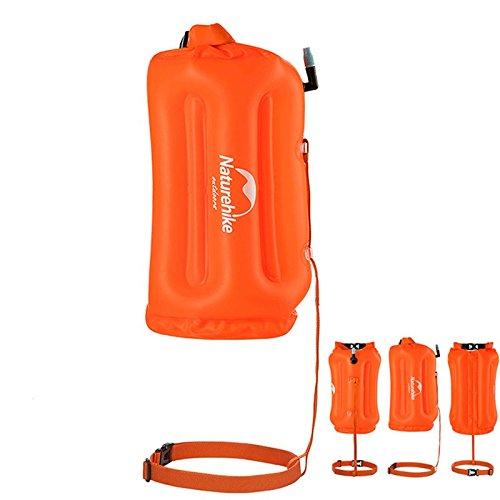 Naturehike Waterproof Air Bag Swim Buoy Orange Swimming Float Dry Bag With Waist