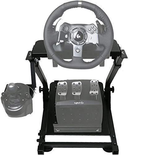 Ner G920 Lenkradständer für Logitech G27 G25 G29 und G920 Lenkrad mit V2 Support Spiel Support Nur Rad Unterstützung und Pedal Nicht Enthalten
