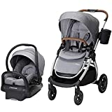 Maxi-Cosi Adorra 2.0 5-in-1 Modular Travel System with Mico Max 30 Infant Car Seat, Nomad Grey