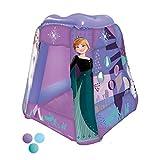 Piscina de Bolas Hinchable con diseño de Frozen Multicolor y 20 Bolas de Colores.
