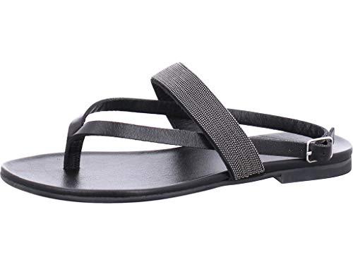 Inuovo Zehentrenner-Sandale Größe 41 EU Schwarz (schwarz)