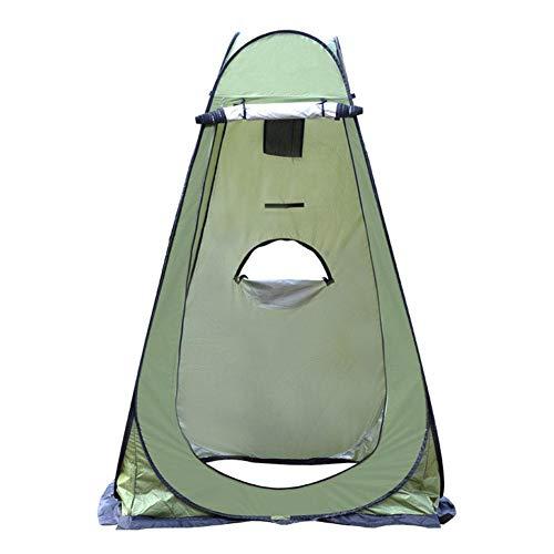 WUYANSE Carpa de baño con Ducha, Vaina emergente Vestidor Carpa de privacidad Carpa de Ducha portátil al Aire Libre instantánea Campamento Plegable para Inodoro Refugio de Lluvia para Camping y Playa