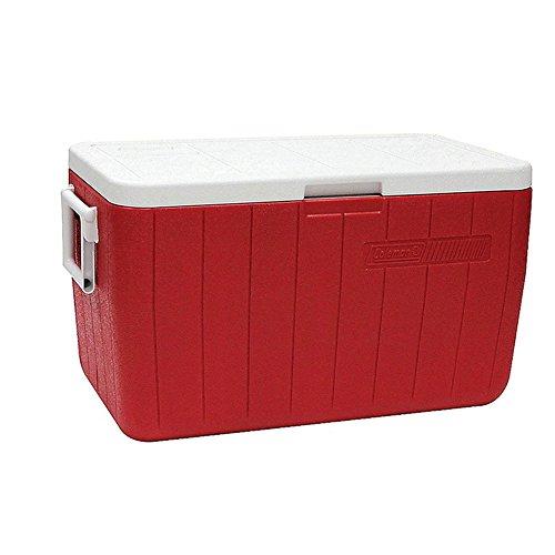 Coleman, Caixa Térmica 48 QT (45,4 L), 64 Latas, Vermelho