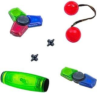 Zing Every Day Play Set ( 1 Thumb Chucks , 1 tumblstix, 1 spinzip x 1 spinbladez