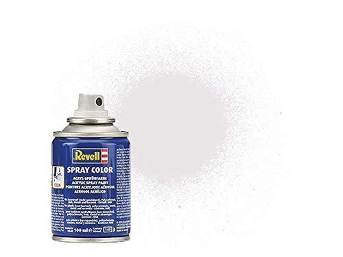 Revell 34102 Spraydose farblos, matt Spray Color, Farben in der praktischen 100-ml-Sprühdose
