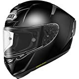 Shoei Solid X-14 Sports Bike Racing Motorcycle Helmet - Black/Large