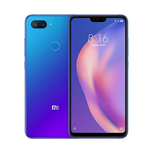 "Xiaomi Mi 8 Lite - Smartphone Dual SIM de 6.26"" nontch FHD+ (Snapdragon 660, RAM de 6 GB, Memoria de 128 GB, cámara de 24 MP, Android 8.1) Color Azul"
