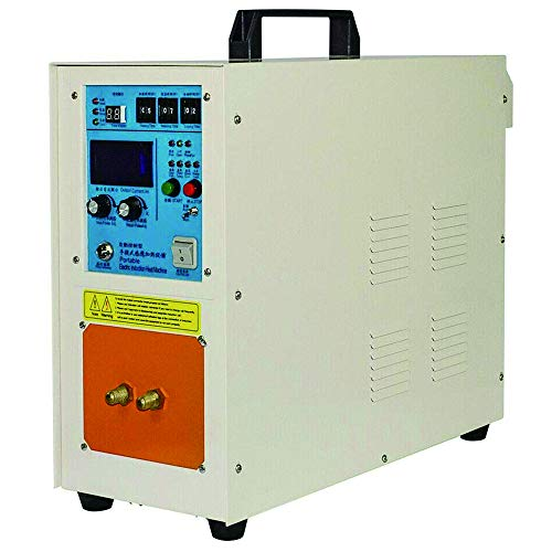 15KW 30-100KHz High Frequency Induction Heater Furnace 2200 ℃ (3992 ℉) High Frequency Machine (220V heater)
