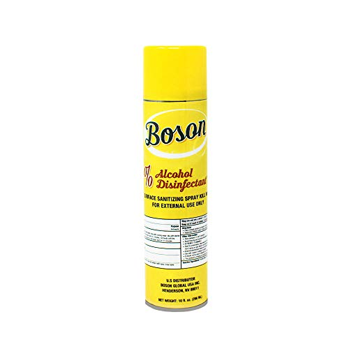 Boson Disenfectant Spray Arisol Can [Made in USA] 75% Alchol Alchohol Disinfectant_Spray