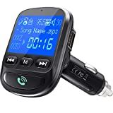 ToHayie QC 3.0 Bluetooth FM Transmitter, Wireless Radio Adapter Hands-Free MP3 Player FM Transmitters Car Kit,...