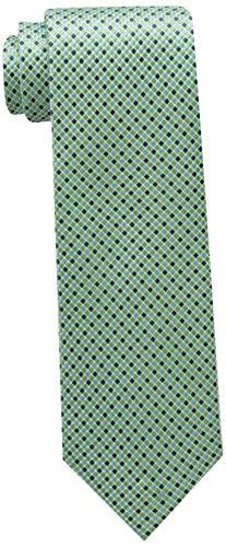 Tommy Hilfiger Men's Core Micro Tie, green, Slim