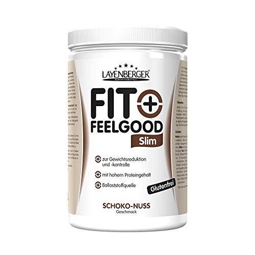 Layenberger Fit+Feelgood Slim Mahlzeitersatz Schoko-Nuss, 3er Pack (3 x 430 g)
