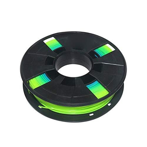 JIALUN ZFX-DAYIN, 1Pc 3D-Drucker Teil 0.2KG 1.75mm PLA Filament Druck PLA-Material Bunt for Extruder Pen Regenbogen Kunststoff Zufällige