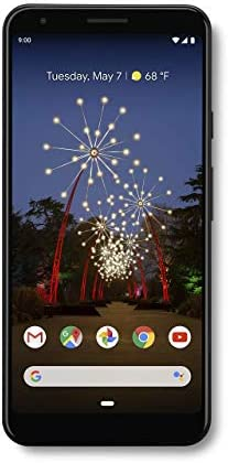 Google – Pixel 3a X-Large with 64GB Memory Cell Phone (Unlocked) – Just Black (G020C)