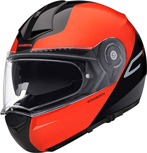 Schuberth C3 Pro Split Klapphelm Schwarz/Orange XXXL (64/65)