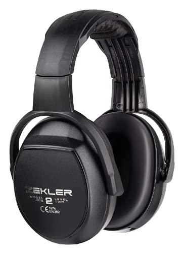 ZEKLER 402 Gehörschutz Ohrenschützer | Lärmschutz Kopfhörer Ohrenstöpsel Kapselgehörschutz Bügelkopfhörer | verstellbar & austauschbare Polster