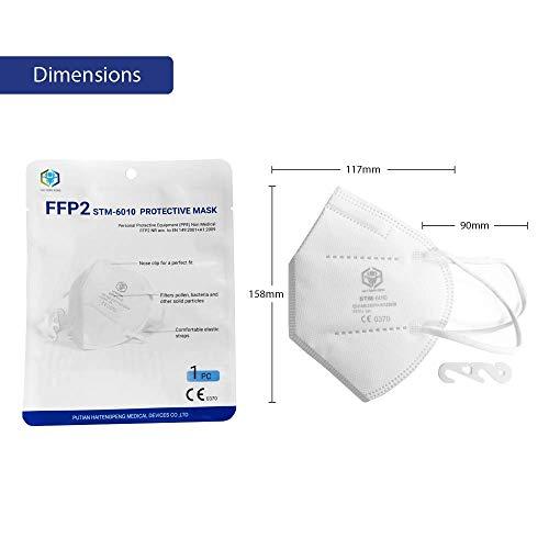 STM Mascherine FFP2 certificate CE (25 pezzi)