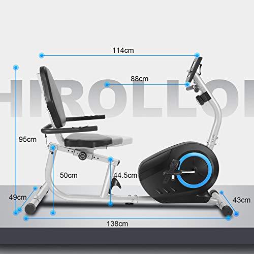 Ancheer Bicicleta Estática Reclinable