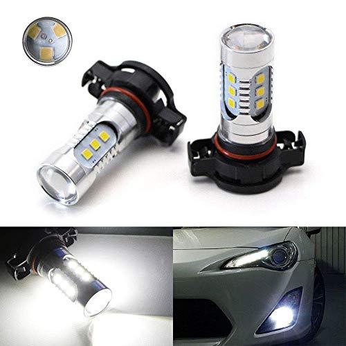 ijdmtoy brilla 15-smd-5730de 360grados de alta potencia 5202H16LED bombillas para luces de niebla o luces de conducción diurna, Xenon Blanco