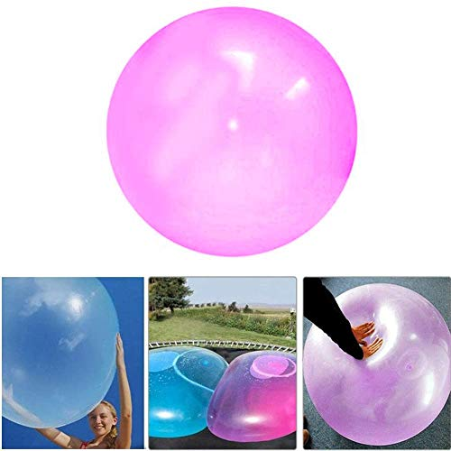 TOMATION Bubble Ball,Inflatable TPR Bubble Balloons Tearproof Balloons,Gefüllter interaktiver reißfester Ballon Kids Fun Toy Gift,Stretch Firm Ball to 50 cm / 20 Inches