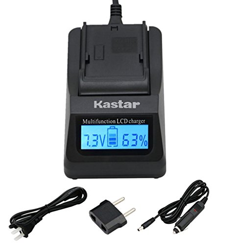 Kastar Ultra Fast Charger Kit for Panasonic DMW-BLC12, DMW-BLC12E, DMW-BLC12PP and DE-A79 Work with Panasonic Lumix DMC-FZ200, DMC-FZ1000, DMC-G5, DMC-G6, DMC-GH2 Cameras -  CH01-0B-BLC12