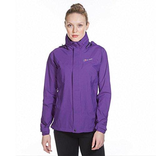 Berghaus Light Hike Hydroshell Shell pour Homme Size 8 Tillandsia Purple