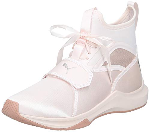 PUMA Damen Phenom Satin EP WN\'s Fitnessschuhe, Pink (Pearl), 40.5 EU