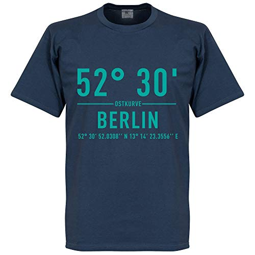 Hertha Berlin Home Koordinaten T-Shirt - blau - XL