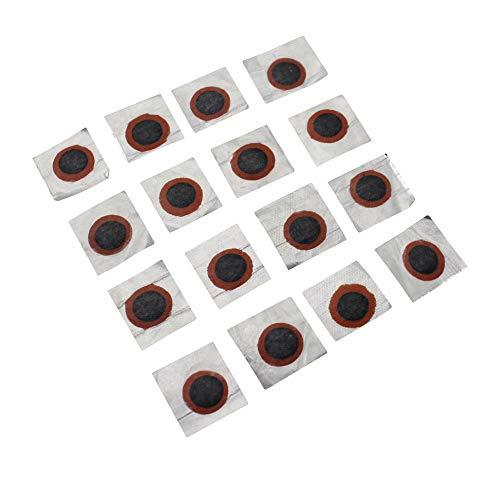 Zefal Rustine – Lote de 100 Piezas de reparación para pinchazos, cámara de Aire, colchón, boya de 25 mm, Ciclismo, Negro Universal
