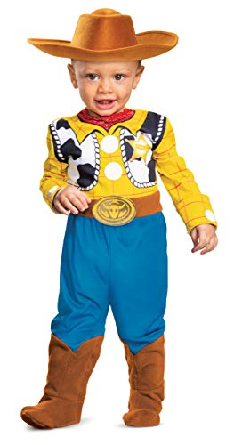 Disguise Baby Boys' Woody Deluxe Infant Costume, Multi, 12-18 Months