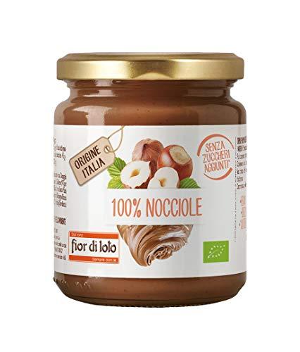 Fior di Loto Crema 100% Di Nocciole Tostate - 30 g