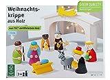 Rossmann Weihnachtskrippe für Kinder aus Holz Kinderkrippe Krippe Holzkrippe Weihnachten