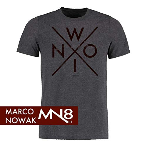 Scallywag® Eishockey T-Shirt Nowi I Größen S - 3XL I A BRAYCE® Collaboration (offizielle Marco Nowak #8 Collection) (M)
