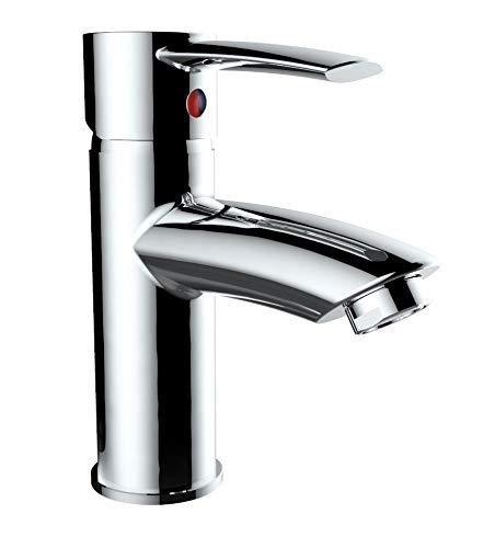 Niederdruck Waschtischarmatur 2406244 Rome, Einhebelmischer Bad Armatur Chrom