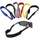 ErenBros PACK 6 Cordón elástico neopreno para gafas de sol y gafas...