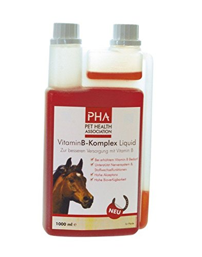 PHA Vitamin B Komplex Liquid f.Pferde 1000 ml