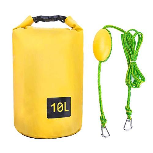 Winnfy 2- In- 1 Sand Anker Kit Boot Anker Kit Kajak Drift Anker Schlepptau Seil Trocken Tasche für PWC Kajaks & Kleine Boote