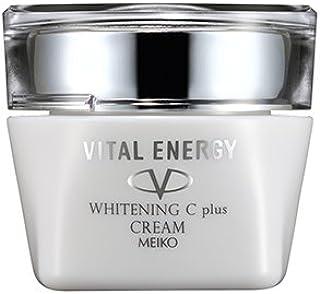 クリーム ホワイトニングクリームCプラス (美白 透明感 保湿 シミ 毛穴 ビタミン 薬用) 【バイタルエナジー】