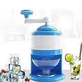 Tragbare Handkurbel Ice Crusher, Ice Crushing Blender, Hand Eismaschine, Kleine Mini Eismaschine, Haushalts-Hand Ice Crusher Doppel-Blatt Mit Cup