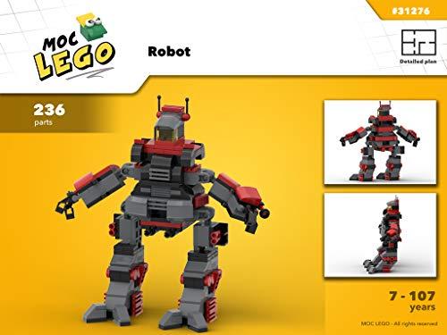 Robot (Instruction Only): MOC LEGO (English Edition)