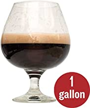 2-Pack 1 Gallon Dark Homebrew Beer Recipe Kit Bundle - Bourbon Barrel Porter Beer Recipe Kit and Rum Runner Stout Beer Recipe Kit - Malt Extract and Ingredients for 1 Gallon