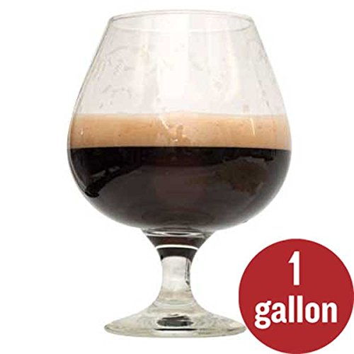 2-Pack 1 Gallon Dark Homebrew Beer Recipe Kit Bundle - Bourbon Barrel Porter Beer Recipe Kit and Rum Runner Stout Beer Recipe Kit - Malt Extract and Ingredients for 1 Gallon