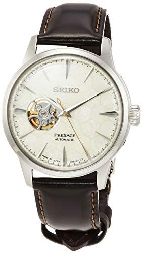 [セイコーウォッチ] 腕時計 プレザージュ PRESAGE(プレザージュ)メカニカル(自動巻付き)ハニカム模様 限定6,000本 カクテルシリーズ ボックス型ハードレックス SARY159 メンズ ブラウン