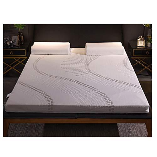 HEJINXL Matratze Latex Matratzenschoner Qualitätsmatratzen,Atmungsaktive Nicht-Slip Hochwertige Materialien Rollmatratze (Size : 180x200cm)