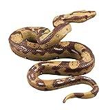 TOYANDONA Jouet en forme de serpent réaliste en caoutchouc - Imitation...