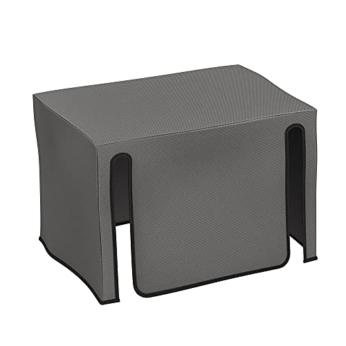 kwmobile Cover Compatible with Epson WorkForce WF-7835DTWF / WF-7830DTWF - Dust Cover Printer Protector - Dark Grey