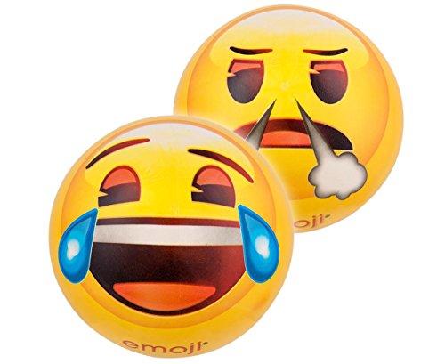 Emoji 16732 – Happy People Balle en Plastique, 23 cm