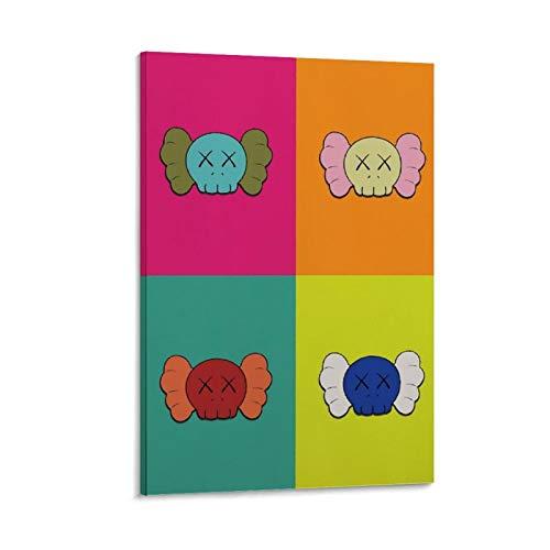 paobu Kaws Poster, dekoratives Gemälde, Leinwand, Wandkunst, Wohnzimmer, Poster, Schlafzimmer, Malerei, 20 x 30 cm