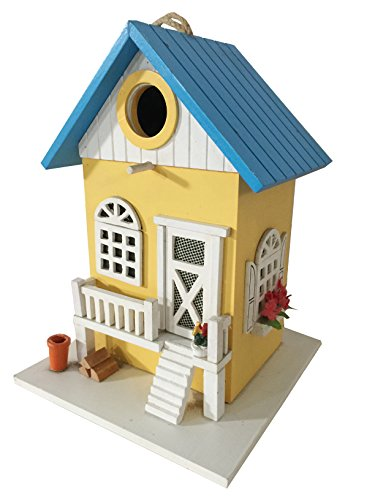 CARTMAN Colored Country Cottages Bird House Farmhouse